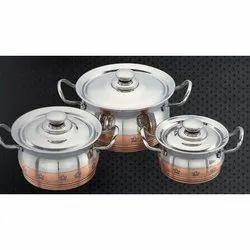 Economy Copper Line Skoda Serving Bowl Set