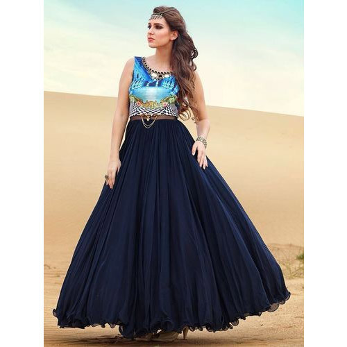 27ebf401a75 Ladies Gown - Ladies Party Wear Gown Manufacturer from New Delhi