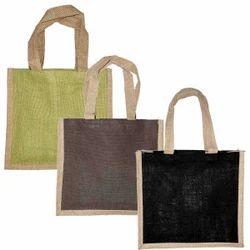 Cord Handle Jute Promotional Bags