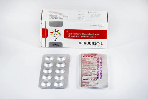 Levocetirizine Hydrochloride and Montelukast Sodium Tablets