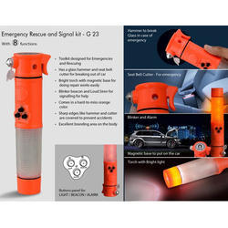 Emergency Rescue And Signal Kit (8 Function)
