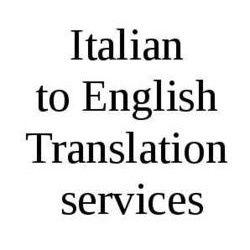 Italian To English Translation