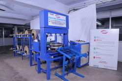 Fully Automatic 8 Roll Paper Plate Making Machine & Automatic Paper Plate Making Machine - Hydraulic Paper Plate Machine ...