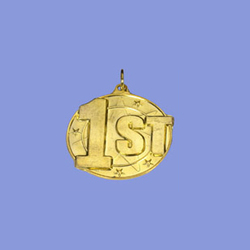Gold Round Medal