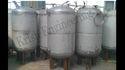 SS Water Storage Tank