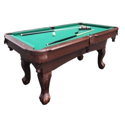 Pool Table In Aramith Ball Set
