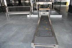 Roller Cans Conveyor: 3mtr
