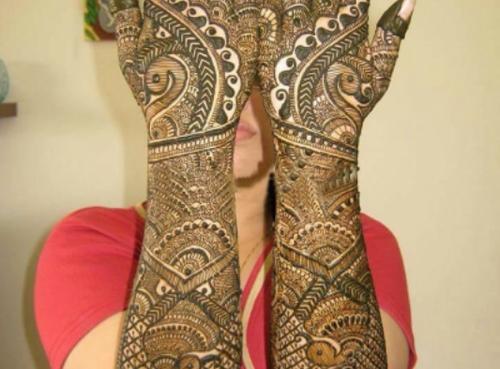 Mehndi Designs Please : Mehndi style latest indian designs for hands