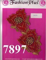 Colorful Zari Lace