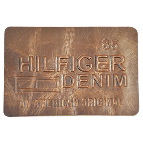 Embossed PU Leather Patch