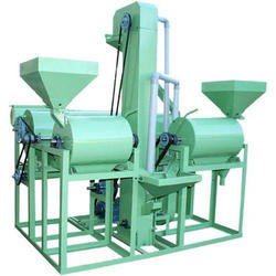 Mini Dal Mill 5 H.P Double Roller