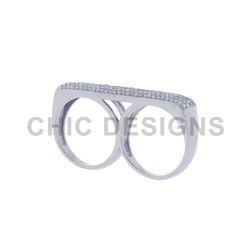 Diamond 925 Sterling Silver Ring