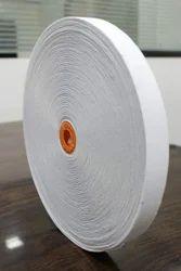 White Elastic Woven Tapes