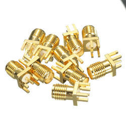 Female - PCB Edge Mountable SMA Connector (1.6mm)