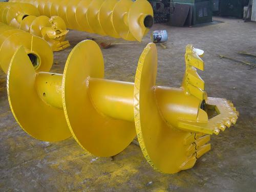 Continuous Flight Rock Auger