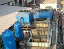 FRP Rectangular Shape Cooling Tower