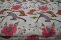 Hand Block Printed 100 % Cotton Fabric Floral Sanganeri Print