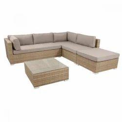 Wicker L Shape Sofa Set