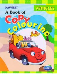 Copy Colouring Vehicles Book