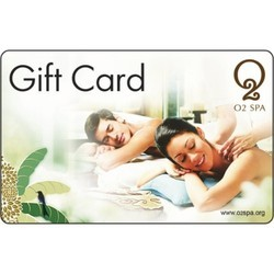O2 Spa - Gift Card - Gift Voucher