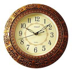 Anitique Golden Look Wall Hanging Clock