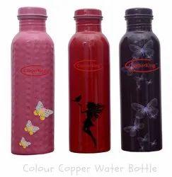 Colour Copper Water Bottle