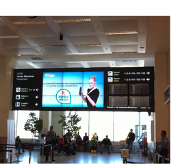 Digital Signage At Airport