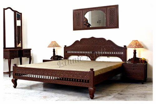 Ethnic Kraft - Manufacturer of Carved Wooden Sofa Set  Carved