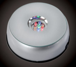 LED Light Base For Crystals (3D LB D)
