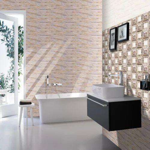 Bathroom wall tiles decorative bathroom wall tiles exporter from morbi for Decorative bathroom wall tile
