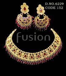 Traditional Rajwada Designer Necklace Set