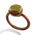 Agate Gemstone Finger Rings