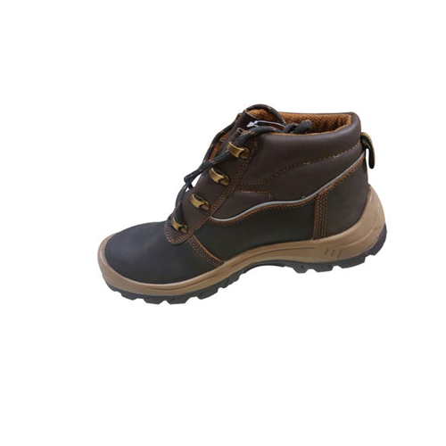Hillson Brown Safety Shoes