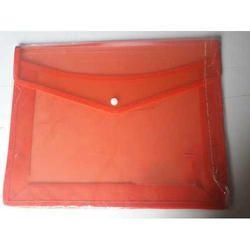 PVC Button File Folder