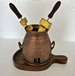 Smokey Finished Copper Table Service Tandoor