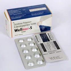Diclofenac 50 MG Serratiopepetidase 10 MG Tablet