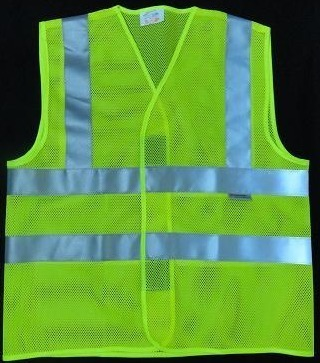 Reflective Safety Jacket  Front Opening  2v 2H