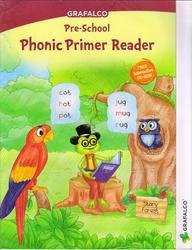 Grafalco Phonic Primer Reader Book with VCD
