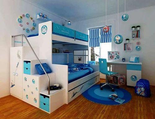 Simple Baby Boys Girls Luxury Kids Bedroom Interior Design