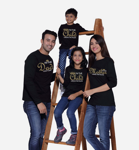 16bc3eaf5c976 Family Tees - Mom Make The Rules Family T-shirts Ecommerce Shop ...