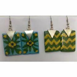 Pottery Earrings