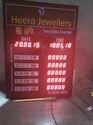TECHON Jewellery Rate Display Boards