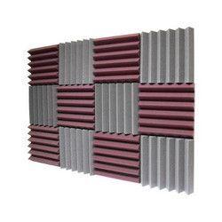 Acoustic Foam Wedge Shape
