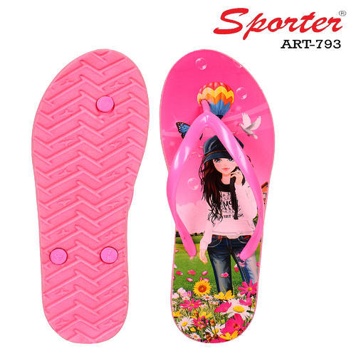 Sporter Women/Girls Pink-793 Slipper \u0026
