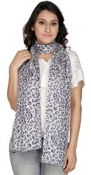 Animal Print Viscose Women's Scarf