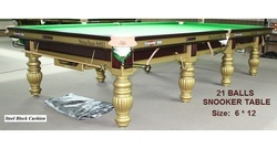 Snooker Table In Shander