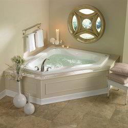 Designed Corner Jacuzzi Bath Tubs