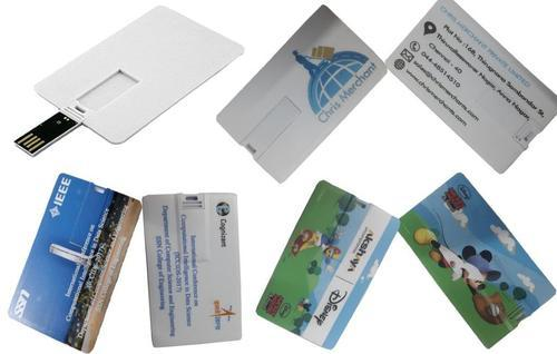 Promotional Credit Card Type Pen Drive (8 GB)