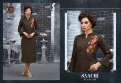 10AM Brown Kurti