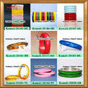 Handmade Jewellery Resin Bangle Bracelet Cuff Of Many Colors